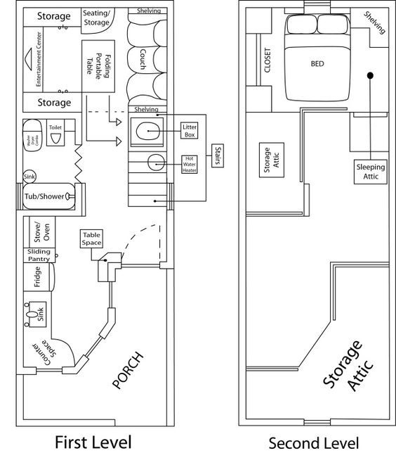 its okay to compromise tiny house cabin shed house plans Deluxe Lofted Barn Cabin Floor Plans