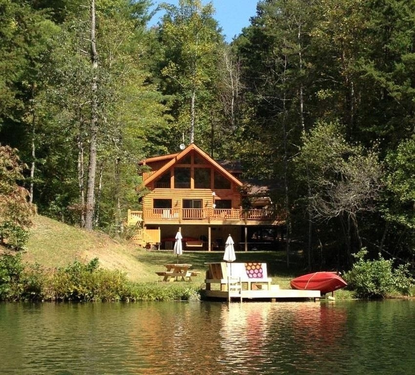 lake lure cabin rental lake lure area gorgeous waterfront Cabins In Lake Lure Nc
