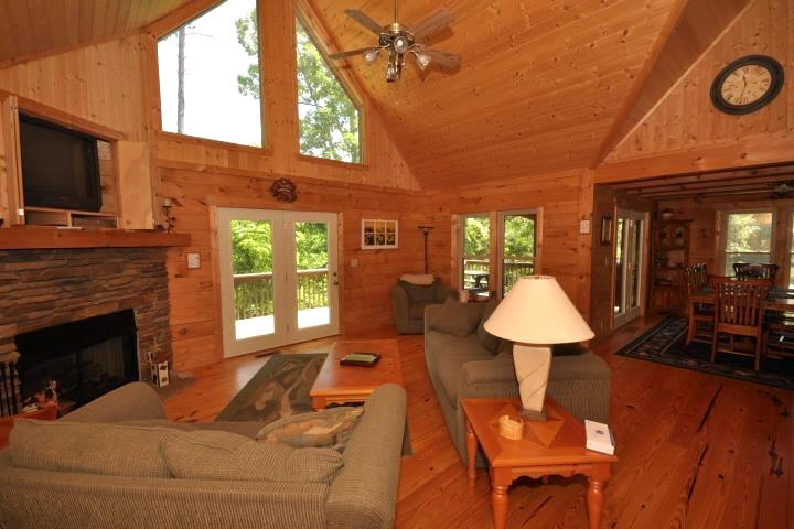 lake lure nc lakeside cottages vacation rentals and visitor Cabins In Lake Lure Nc