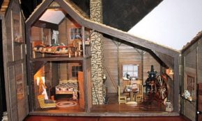little house on the prarie dollhouse members gallery Little House On The Prairie Cabin Floor Plan