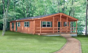 log cabin double wide mobile homes factory homes Double Wide Mobile Homes That Look Like Log Cabins