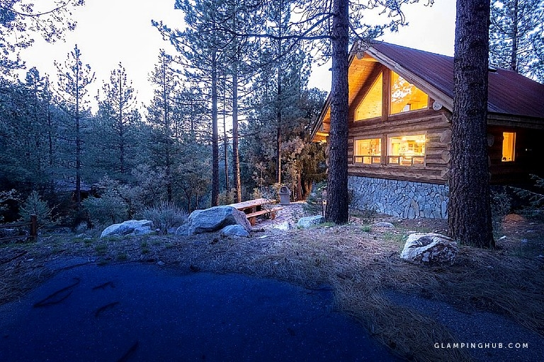 log cabin getaway near los angeles in the san emigdio mountains california Cabins Near Los Angeles