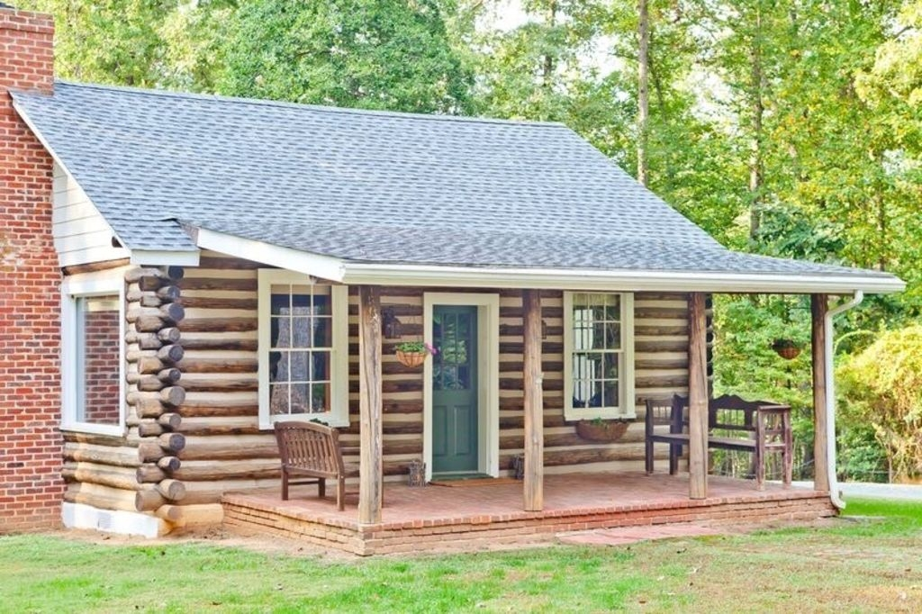 luxurious log cottagecabin in the heart of wine country charlottesville Cabins In Charlottesville Va
