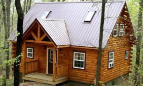 luxury hocking hills ohio cabin rental lovers loft cabin Lovers Loft Cabin