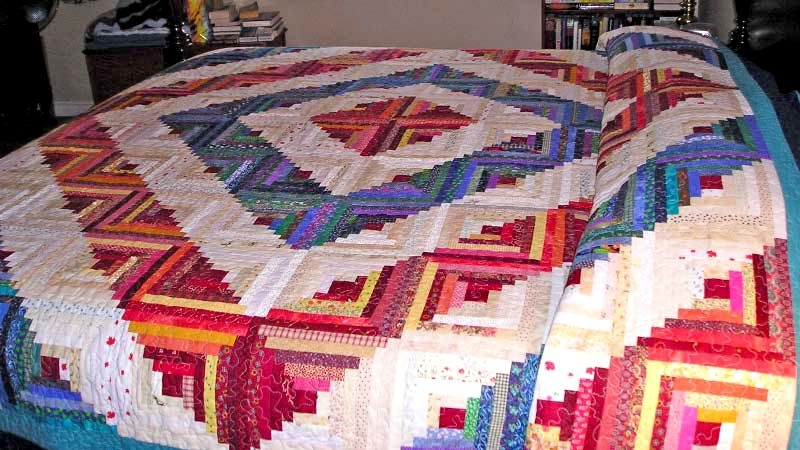 photo gallery and layout tips for log cabin quilts Log Cabin Quilts Pictures