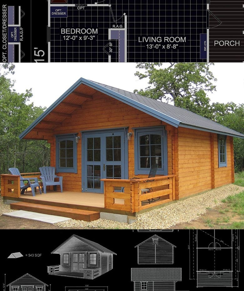 prefab tiny houses you can order online right now craft mart Tiny Prefab Cabins