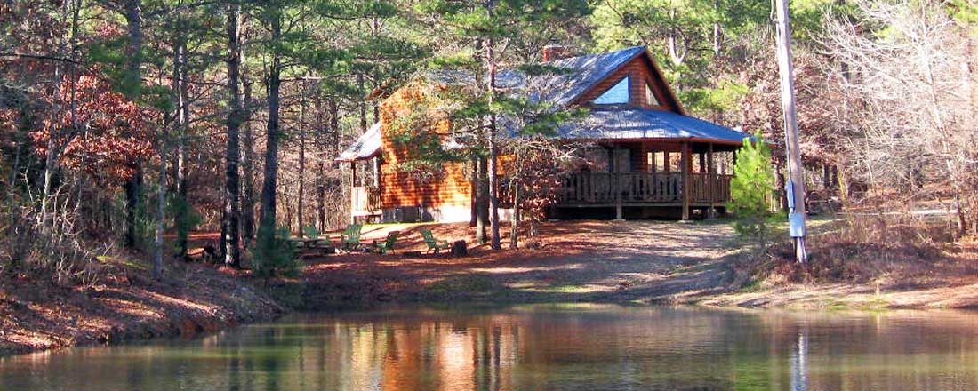 redbud retreat secluded beavers bend cabin on 40 private Cabins In Beavers Bend