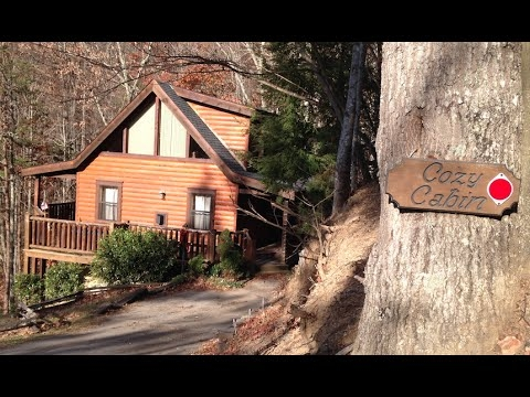 reviewvirtual tour of the cozy cabin cabins for you in gatlinburg tn Cabins For You In Gatlinburg Tn