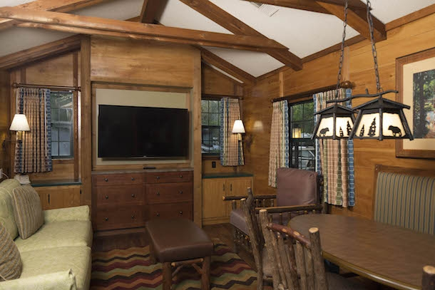 room with a view the cabins at disneys fort wilderness Cabins At Disney World