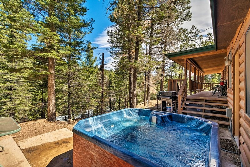 ruidoso cabin w hot tub 3 mi to links golf course updated Cabins In Ruidoso Nm With Hot Tubs