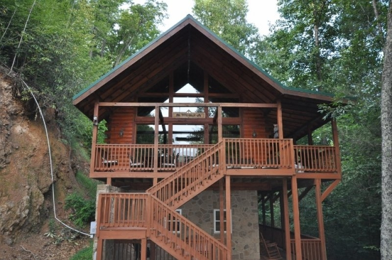 secluded smoky mountain cabin rentals black bear hollow cabins Black Bear Cabins