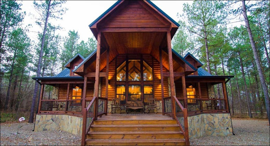 serenity point lodge cabin rentals beavers bend lodging Cabins At Beavers Bend