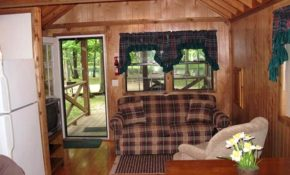 shelville cabin rentals campground rv park robin hood woods Lake Shelbyville Cabins