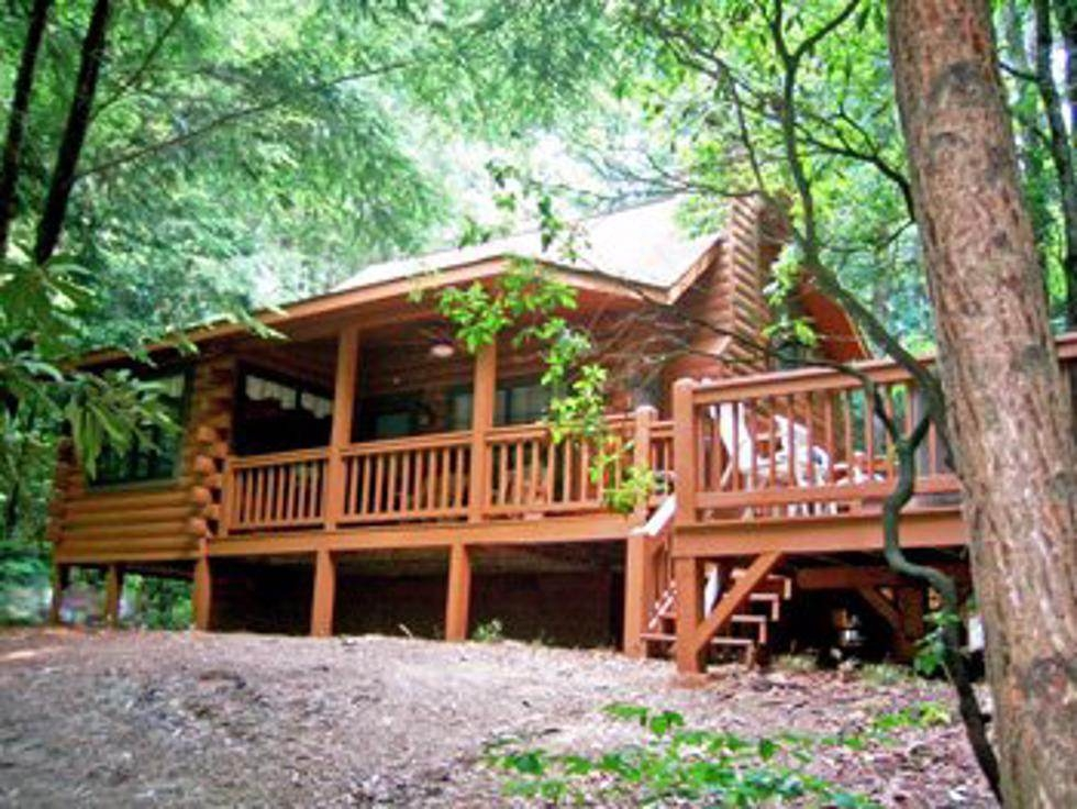 sliding rock cabins fannin county chamber of commerce Sliding Rock Cabins