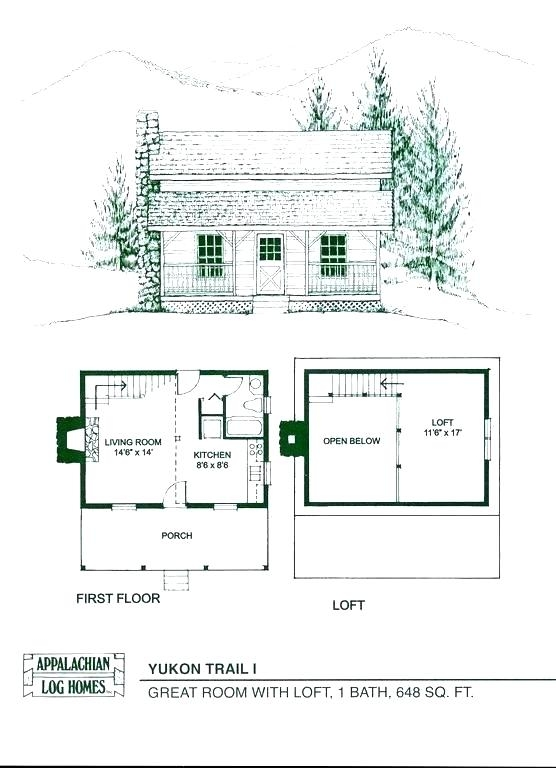 small cabin with loft floor plans hybridmediasl 2 Bedroom Cabin Plans With Loft