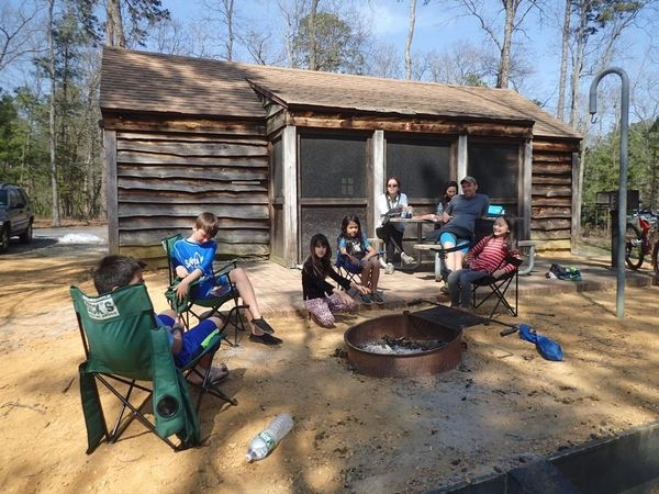 spring break session 2 campingglamping at parvin state Parvin State Park Cabins