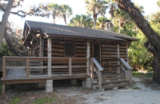 the rear entrance to cabin 1 picture of myakka river state Myakka State Park Cabins