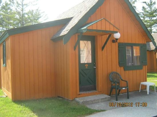 this is a one room chalet picture of cabins of mackinaw Cabins Of Mackinaw
