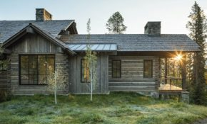 this summer camp cabin is a study in cozy surprises Camp Cabin And Home