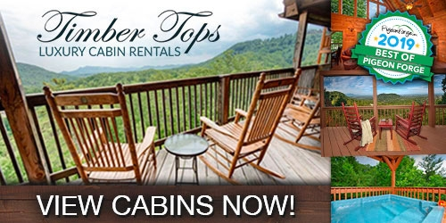 timber tops pigeon forge cabin rentals pigeonforge Timbertop Luxury Cabins