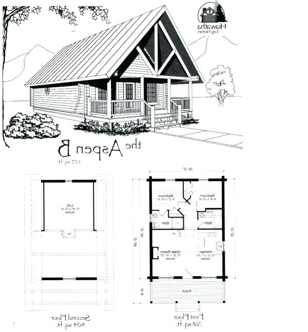 two bedroom cabin plans 2 Bedroom Cabin Plans With Loft
