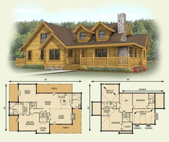 unique small log cabin floor plans and prices new home floor fan Log Cabin Floor Plans With Loft