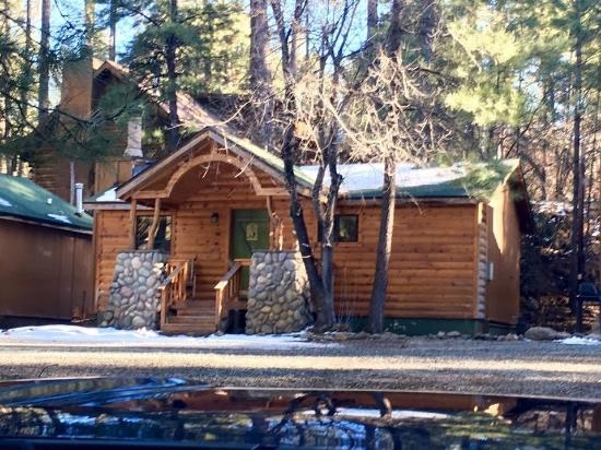 we stayed in cabin 15 and loved it very nice and cozy Canyon Cabins Ruidoso Nm