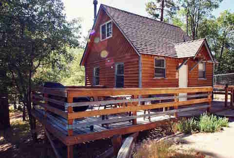 where to cabin near la santa barbara idyllwild big Cabins Near Los Angeles