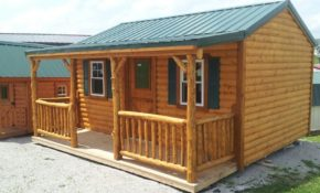 wildcat barns log cabins rent to own custom built log Rent To Own Mobile Cabins