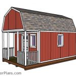 12x20 small cabin plans diy hunting shack myoutdoorplans 12 By 20 Cabin