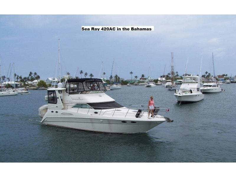 2002 sea ray 420 aft cabin powerboat for sale in michigan Sea Ray 420 Aft Cabin