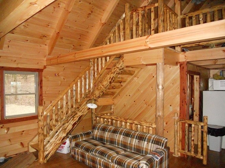 20x32 pioneer supreme in 2019 log cabin living image 20 X 32 Cabin With Loft