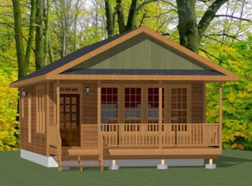20×32 tiny house 20x32h4d 640 sq ft excellent floor 20 X 32 Cabin With Loft