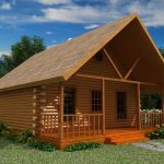 24x30 with loft log cabin so small not tinyand 24x30 Cabin