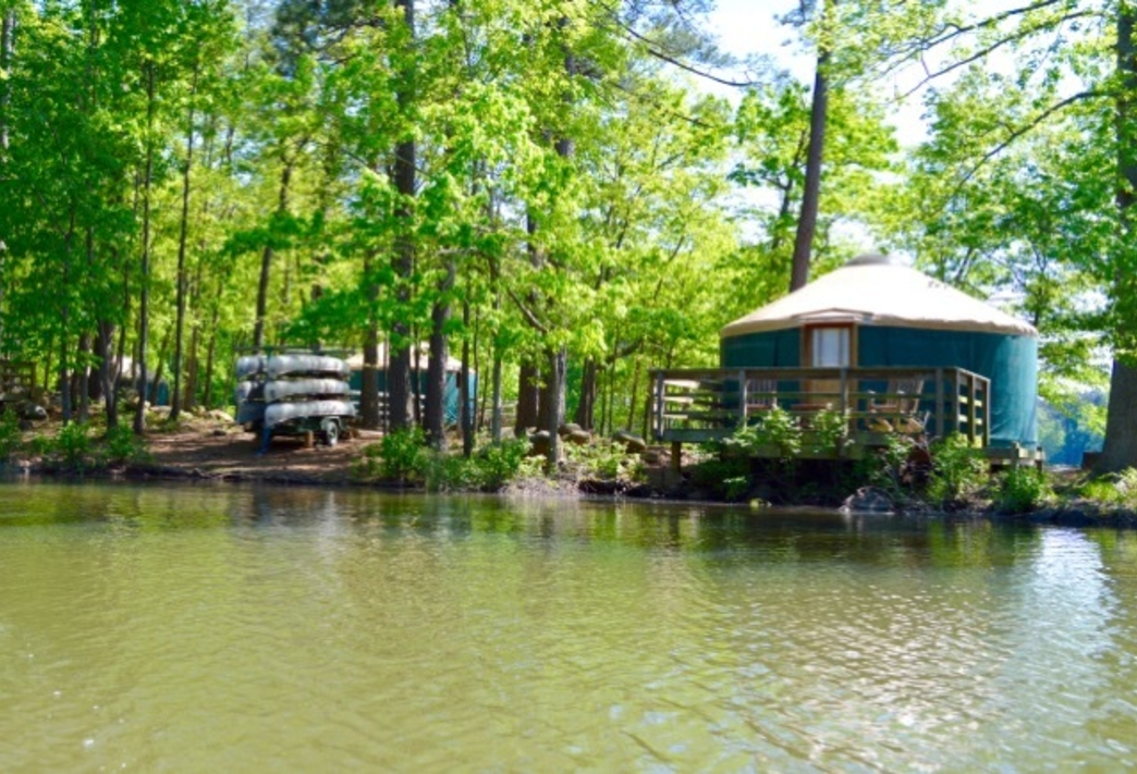 5 georgia state parks that offer yurt camping Georgia State Park Cabins