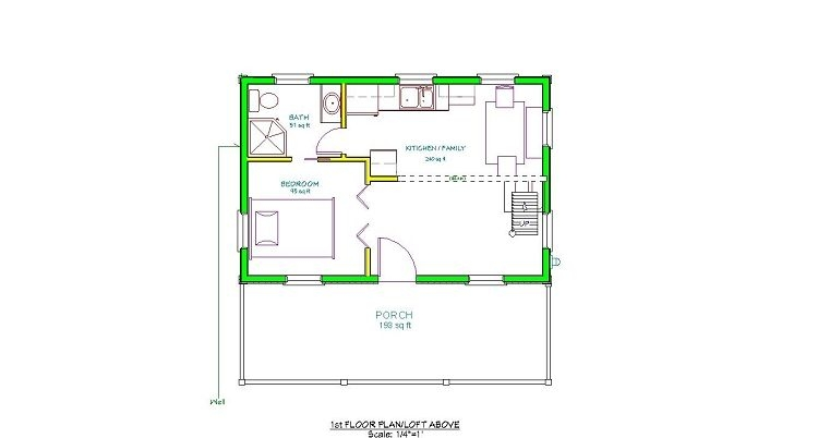 adirondack cabin plans 16x24 with loft in 2019 cabin 16x24 Cabin Layout