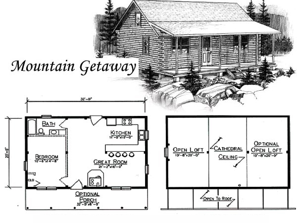 all custom log cabin construction sales 5731 sneller rd 20 X 32 Cabin With Loft