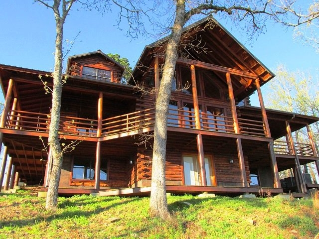 beavers bend luxury cabin rentals travelok Beavers Bend Luxury Cabins