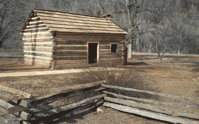 boyhood of abraham lincoln teachers us national park Abe Lincoln Cabin