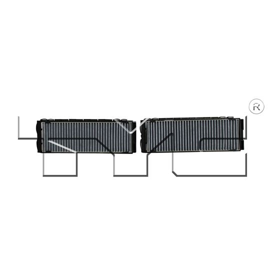 cabin air filter tyc 800114c2quick shipping from multiple locations in the usa Tyc Cabin Air Filter