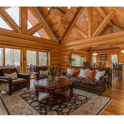 cabin furniture for rustic homes everything log homes Log Cabin Living Room Furniture
