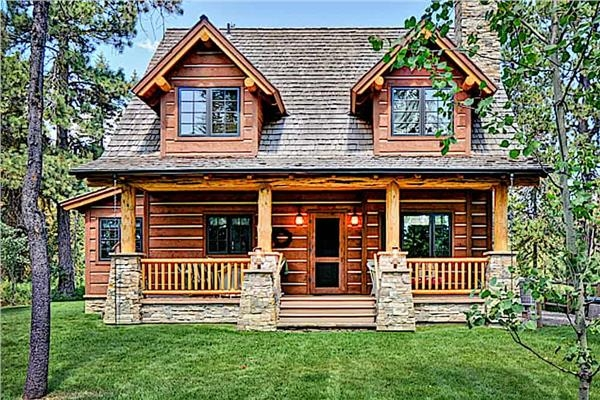 Elegant Log Cabin Plans Gallery