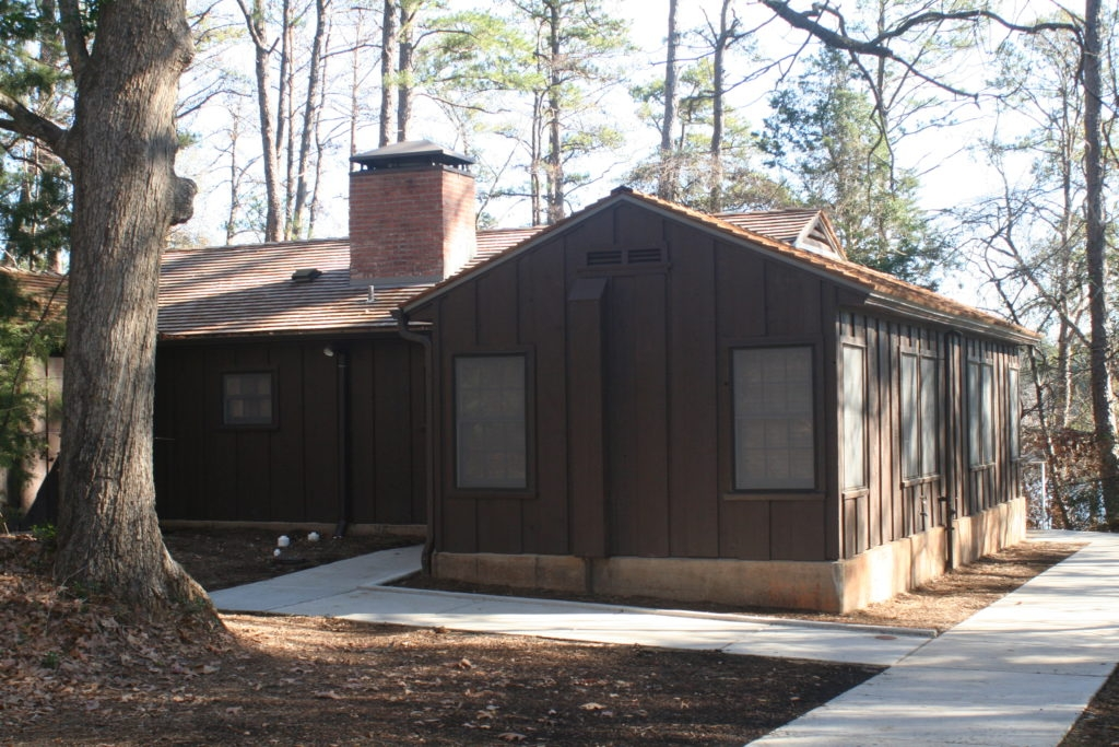 daingerfield park garrett assoc recreation facility Daingerfield State Park Cabins