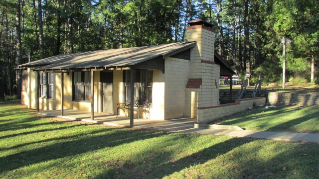 daingerfield state park cabin six person texas parks Daingerfield State Park Cabins