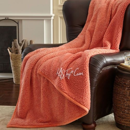 details about new warm ultra soft cuddly cabin sherpa throw Cuddly Cabin Throw