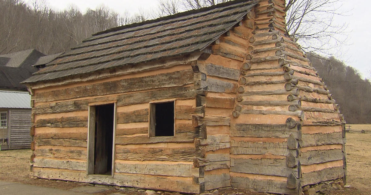 did abraham lincoln sleep here cbs news Abe Lincoln Cabin