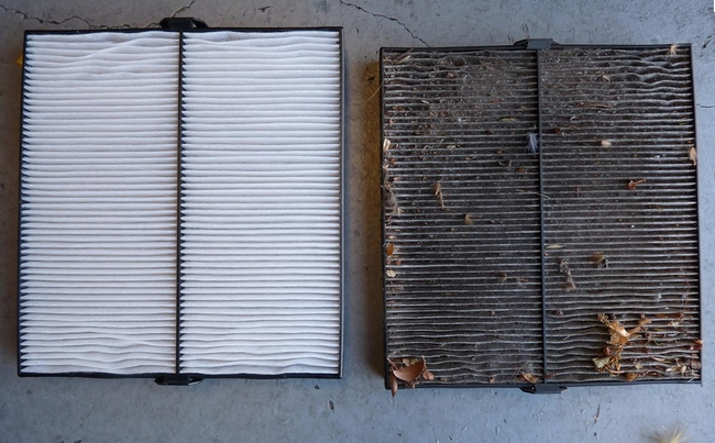 dirty cabin and air filters need to be changed rm Dirty Cabin Air Filter