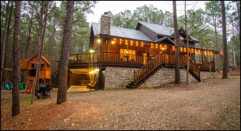 firewater creek cabin rentals beavers bend lodging Luxury Cabins Broken Bow