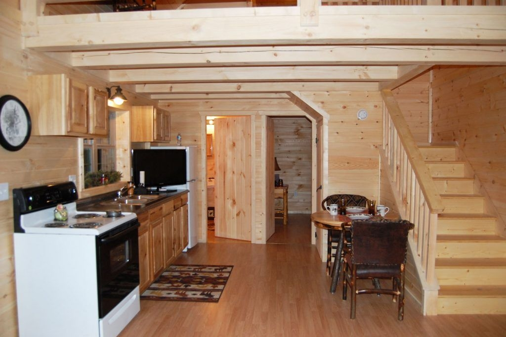 floorsderksen deluxe lofted barn cabin floor plans about Deluxe Lofted Barn Cabin Interior