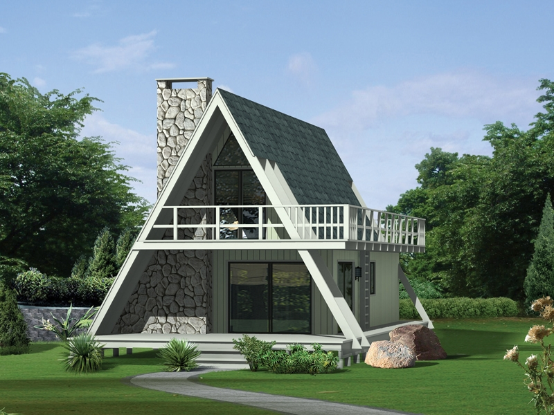grantview a frame home A Frame Cabin Plans